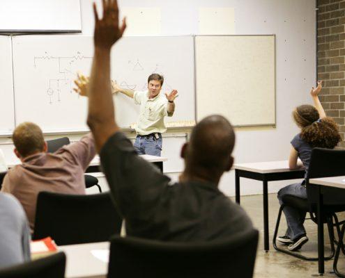 teaching adults